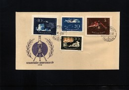 Hungary 1958 International Geophysical Year FDC - International Geophysical Year