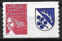 France 2004 Timbre Adhésif Neuf** Avec Vignette N° 3729Aa Cote 8 Euros - France
