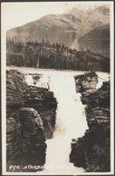 Athabasca Falls, Jasper National Park, Alberta, C.1940 - Byron Harmon RPPC - Alberta