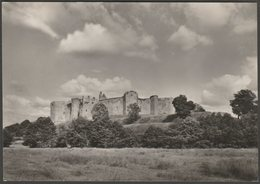 General View, Raglan Castle, Monmouthshire, C.1960 - Ministry Of Works RP Postcard - Monmouthshire