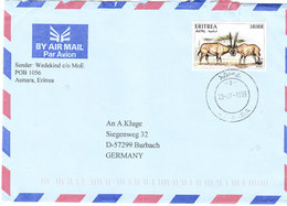 ERITREA COVER 1999 - Eritrea