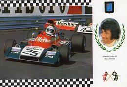 Howden Ganley  -   ISO-Marlboro Cosworth  -  Monaco Grand Prix   -  CPM - Grand Prix / F1