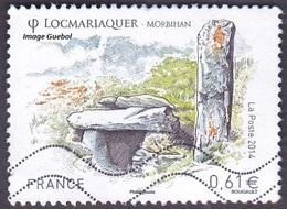 Oblitération Moderne Sur Timbre De France N° 4882 Série Touristique - Locmariaquer (Morbihan) - France