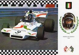 Andrea De Adamich  -   Brabham BT 37/2 Cosworth  -  Monaco Grand Prix   -  Carte Postale - Grand Prix / F1