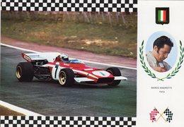 Mario Andretti  -   Ferrari 312 B-2     -  Carte Postale - Grand Prix / F1