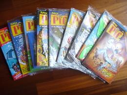 Série Complète Des 9 Super Pif. Exemplaires Neufs Avec Les Gadgets. - Pif Gadget