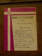 Bond Van Het H. HART  SOTTEGEM  1934 - Religion & Esotericism