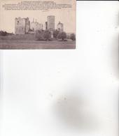 CPA 71 MARTIGNY-LE-COMTE ,le Château. (ruines...) - Francia