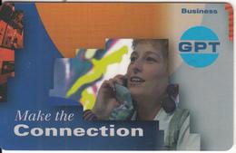 "ISLE OF MAN(chip) - Telecom""95/Geneva, GPT-Make The Connection 1, Tirage 4500, Mint - Isle Of Man"