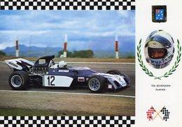 Tim Schenken  -   Surtees TS 9-B     -  Carte Postale - Grand Prix / F1