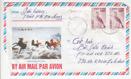 Vietnam, Airmail Letter Cover Travelled 1996 B180725 - Viêt-Nam