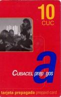 TARJETA TELEFONICA DE CUBA (PREPAGO CUBACEL 10CUC) (283) - Cuba