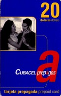 TARJETA TELEFONICA DE CUBA (PREPAGO CUBACEL 20CUC) (278) REGULAR - Cuba