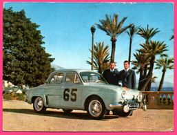 Rallye De Monté Carlo 1958 - Dauphine Renault - MONRAISSE ET FERRET -Photo ROSENTHAL - 1959 - Rallyes