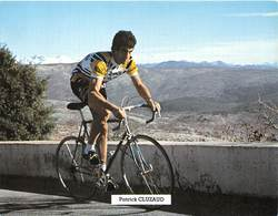 CYCLISTE - PATRICK CLUZAUD - Cyclisme