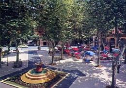 Fiuggi Fonte - Piazza Spada - Formato Grande Non Viaggiata – E 7 - Fiumicino