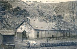03 - Commentry - Mine - Tranchée Chambre Chaude - Cheval Tirant Un Train De Wagonnets - Commentry
