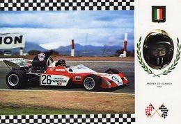 Andrea De Adamich   -   Surtees TS-9B     -  Carte Postale - Grand Prix / F1