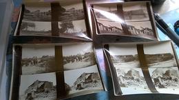 8  Photos Stéréotypes Guerre 14 18 Poperinge Et Elverdinghe - Guerre, Militaire