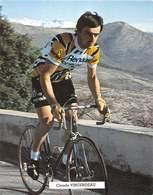 CYCLISTE - CLAUDE VINCENDEAU - Cyclisme
