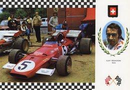 Clay Regazzoni   -   Ferrari 312 B-1     -  Carte Postale - Grand Prix / F1