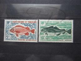 VEND TIMBRES DE S.P.M. N° 423 + 424 , NEUFS AVEC CHARNIERES !!! - St.Pierre & Miquelon