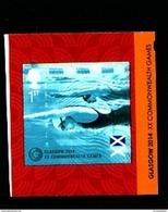 GREAT BRITAIN - 2014  COMMONWEALTH GAMES  SELF ADHESIVE EX BOOKLET  MINT NH - 1952-.... (Elisabetta II)