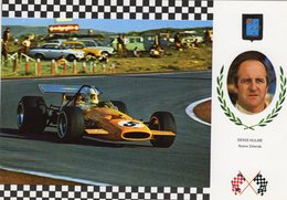 Denny Hulme   -   McLaren MP4     -  Carte Postale - Grand Prix / F1