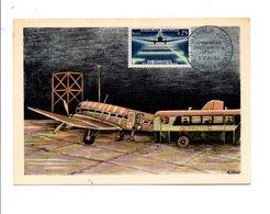 1959 AEROPOSTALE DE NUIT LE BOURGET - Flugzeuge