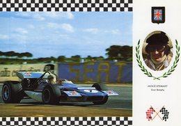 Jackie Stewart  -   March 701 Ford     -  Carte Postale - Grand Prix / F1