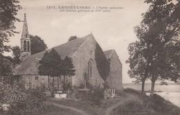 29 - LANDEVENNEC - L' Eglise Paroissiale Joli Clocher Gothiqe Du XVIe Siècle - Landévennec