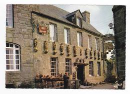 29 LOCRONAN N°1380 Vieille Maison Aux Douze Apôtres Et JOB Le Sculpteur Imagier Boulangerie A La Galette St Ronan - Locronan