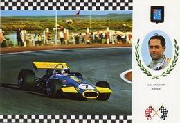 Jack Brabham  -   Brabham BT33    -  Carte Postale - Grand Prix / F1