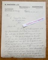 Speelgoederen, Religieuse Artikelen, H. Maessen & Zn.,Swalmerstraat, Roermond 1941 - Pays-Bas