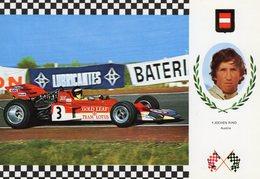 Jochen Rindt  -   Lotus 72 Ford    -  Carte Postale - Grand Prix / F1