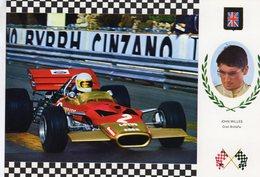 John Miles  -   Lotus 49C    -  Carte Postale - Grand Prix / F1