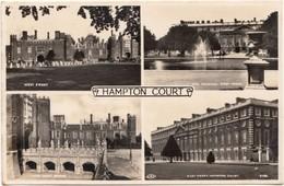HAMPTON COURT, United Kingdom, Unused Real Photo Postcard [21583] - London Suburbs