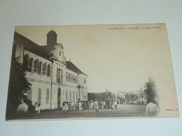LA REUNION - SAINT-PIERRE L'HOTEL DE VILLE - NON IMPRIME AU DOS (AB) - Saint Pierre