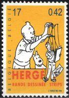 BELGIQUE 2873 ** MNH TINTIN KUIFJE TIM HERGE Marionnette Pantin Comics Bande Dessinée Strip - Unused Stamps