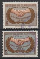 EL SALVADOR - 1965 - MI.Nr.901 & 902 - YT Nr. 705 Nen 706 - Gestempeld/oblit./Used/gebraucht -° - Salvador