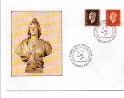 OBLITERATION BICENTENAIRE REVOLUTION CONGRES PHILA. 21 EME REGION à CHAZELLES SUR LYON RHONE 1989 - Commemorative Postmarks