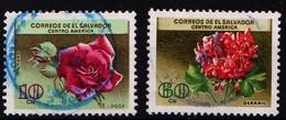 EL SALVADOR - 1964 - MI.Nr.892 & 893 -  Gestempeld/oblit./Used/gebraucht -° - Salvador