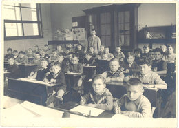 Photo Intérieur De Classe, école, 1955 - Photos