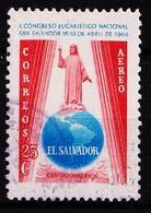 EL SALVADOR - 1964 - MI.Nr.876 Of YT 190 -  Gestempeld/oblit./Used/gebraucht -° - Salvador