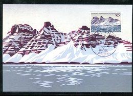 Islande - Carte Maximum 1983 - Mont Sulur - Cartes-maximum
