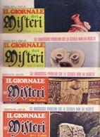 """RIVISTA """"GIORNALE DEI MISTERI"""":LOTTO 4 RIVISTE :1971(N°8/9) -- 1972(N°10/11). - Books, Magazines, Comics"""
