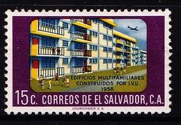 EL SALVADOR - 1962- MI.Nr.843 -  Ongestempeld/neuf./New - * - Salvador