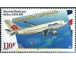 Ref. 80862 * MNH * - NEW CALEDONIA. 2001. NOUMEA-OSAKA EN AIRBUS A310-300 - Nouvelle-Calédonie