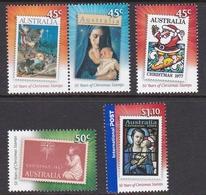 Australia ASC 2510-2514 2007 Christmas, Mint Never Hinged - 2000-09 Elizabeth II