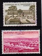 EL SALVATOR - 1954 - MI. 756 En 748 - Gebraucht/gestempeld/used/oblit. - ° - Salvador